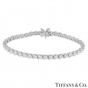 Tiffany & Co. Platinum Diamond Victoria Bracelet 6.53ct TDW